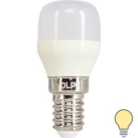 Лампа светодиодная для холодильника E14 220-240 В 3 Вт 250 лм, тёплый белый свет