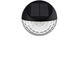 Светильник садовый настенный светодиодный Puno на солнечных батареях