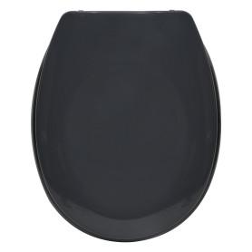 Сиденье для унитаза Sensea Sparta с микролифтом, цвет тёмно-серый