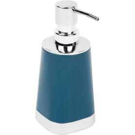 Дозатор для жидкого мыла Gloss цвет тёмно-синий