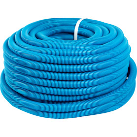 Труба гофрированная Ø25 мм 50 м цвет синий