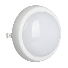 Светильник ЖКХ светодиодный IP44, накладной, круг, цвет белый