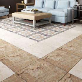 Керамогранит Privilege Moca 45x45 см 1.215 м² цвет коричневый