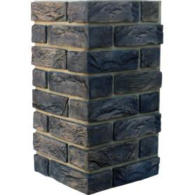 Плитка декоративная Торн Брик угловая, цвет серый, 2.62 мп