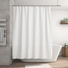 Штора для ванны Happy 180x200 см, полиэстер, цвет белый