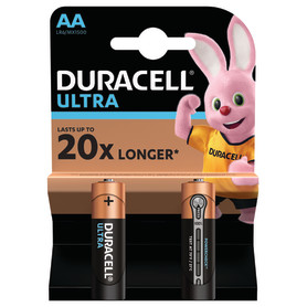 Батарейка алкалиновая Duracell Ultra AA/LR6 2 шт