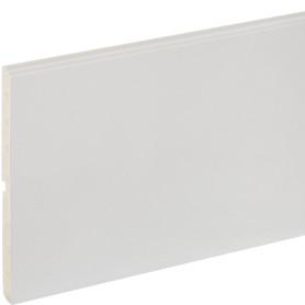 Цоколь для кухни 240x15 см, ПВХ, цвет серый
