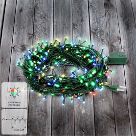 Электрогирлянда комнатная Balance «Нить» 5 м 50 LED мультисвет