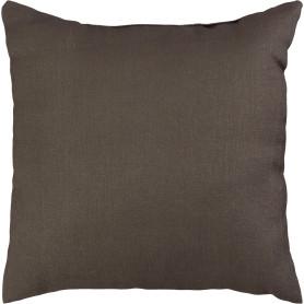 Подушка «Agnessa», 40x40 см, цвет коричневый