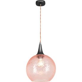 Светильник подвесной «Винтаж» 1 лампа 5 м² цвет розовый