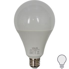 Лампа светодиодная Volpe Norma E27 220 В 30 Вт груша 2400 лм, белый свет