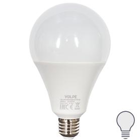 Лампа светодиодная Volpe Norma E27 220 В 35 Вт груша 2800 лм, белый свет