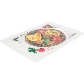 Разделочный мат «Шеф-повар» 240х330 мм, пластик, цвет мультиколор, 4 шт.
