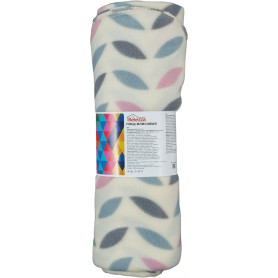 Плед «Scandi», 130х170 см, флис, цвет розовый