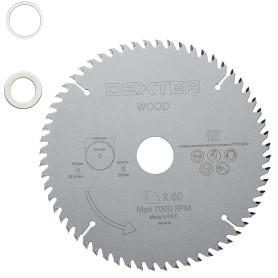 Диск пильный по дереву Dexter FD-E031903060T, 190x30 мм, 60 Т