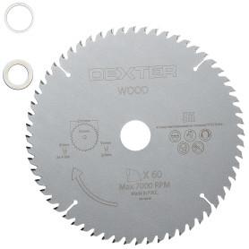 Диск пильный по дереву Dexter FD-E032163060T, 216x30 мм, 60 Т