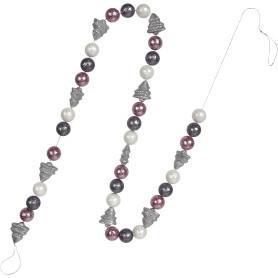 Гирлянда «Серебряные ёлочки» 170 см