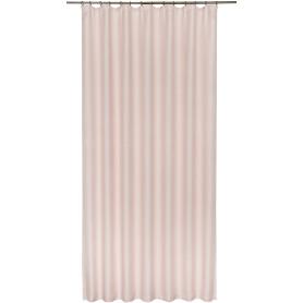 Штора на ленте «Ромбики», 200x260 см, геометрия, цвет розовый