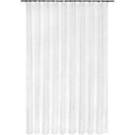 Тюль на ленте «Лабиринты», 250x260 см, геометрия, цвет белый