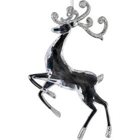Украшение ёлочное ErichKrause Decor «Олень хрустальный», 12 см, пластик, цвет прозрачный