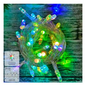 Электрогирлянда комнатная «Нить» 5.5 м 50 LED мультисвет