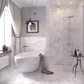 Керамогранит Grata PG01 60x60 см 1.44 м² цвет белый