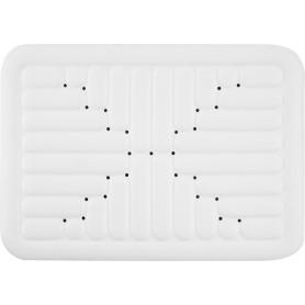 Коврик для ванной комнаты противоскользящий 52х72 см цвет белый