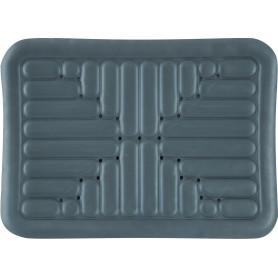 Коврик для ванной комнаты противоскользящий 52х72 см цвет серый