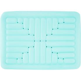 Коврик для ванной комнаты противоскользящий 52х72 см цвет голубой