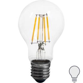 Лампа светодиодная Uniel Стандарт E27 170-240 В 8 Вт 800 лм, холодный белый свет