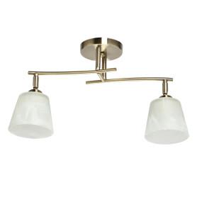 Люстра потолочная «Тетро», 2 лампы, 4 м², цвет золото