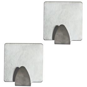 Самоклеящиеся стальные крючки Adge, 2 шт
