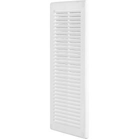 Решётка вентиляционная, 150х310 мм, цвет белый