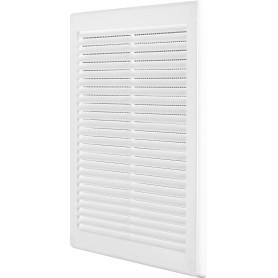 Решётка вентиляционная, 250х250 мм, цвет белый