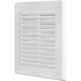 Решётка вентиляционная, 150х150 мм, цвет белый