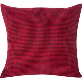 Подушка «Гламис», 40х40 см, цвет красный