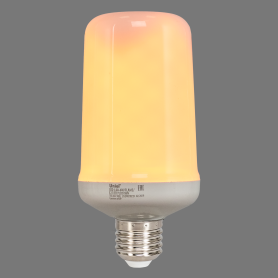 Лампа светодиодная Uniel E27 170-240 В 6 Вт цилиндр 300 лм, тёплый свет