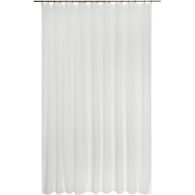 Тюль на ленте «Орнамент», 250х260 см, геометрия, цвет экрю