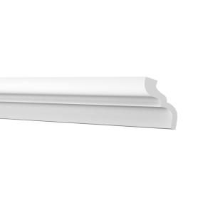 Плинтус потолочный Inspire С04/50 4.6х4.6х200 см цвет белый