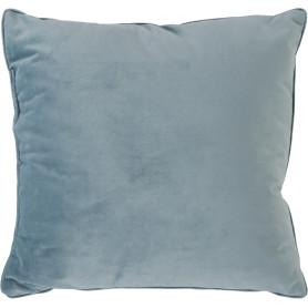 Подушка «Бархат», 40х40 см, цвет серый/голубой