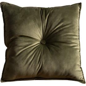 Подушка «Бархат», 45х45 см, цвет зелёный