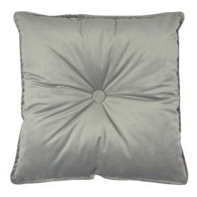 Подушка «Бархат», 45х45 см, цвет серый