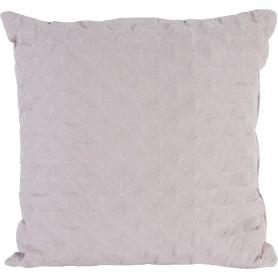 Подушка, 43х43 см, цвет пыльная роза