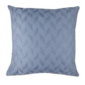 Подушка, 43х43 см, цвет серый/синий