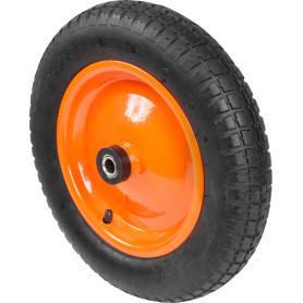 Колесо для тачки пневматическое Строймаш, размер 3.00-8, D360 мм.
