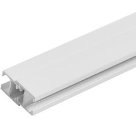Карниз шинный однорядный Atlant Mini, 320 см, алюминий, цвет белый