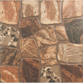 Керамогранит Cersanit Vilio Brown 32.6x32.6 см 1.27 м² цвет коричневый