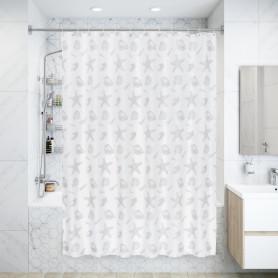 Штора для ванны Laguna 180x200 см, полиэстер, цвет белый