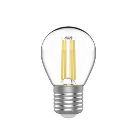 Лампа светодиодная Gauss E27 220 В 4.5 Вт шар 400 лм, тёплый белый свет