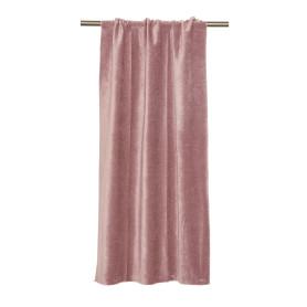 Штора на ленте Baden, 134x260 см, однотон, цвет розовый